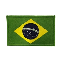 Fuji Brazilian Flag Patch