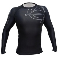 Fuji Inverted Long Sleeve Rash Guard Black