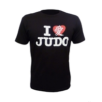 Fuji Love Judo T-shirt - Black