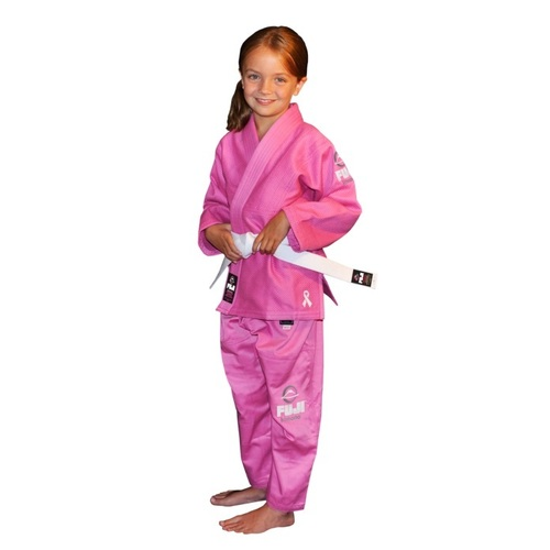Fuji Kids Pink Ribbon Gi
